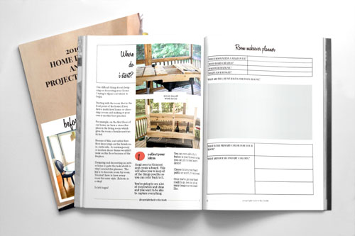 Home decor planner