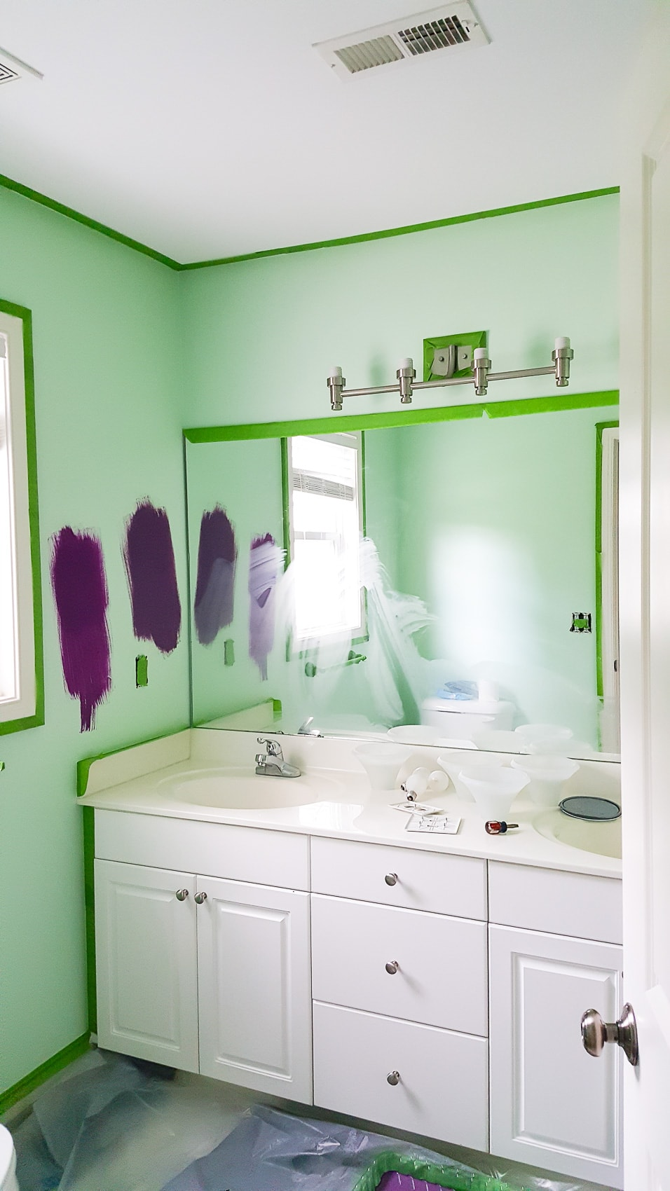 Prepare a room before painting