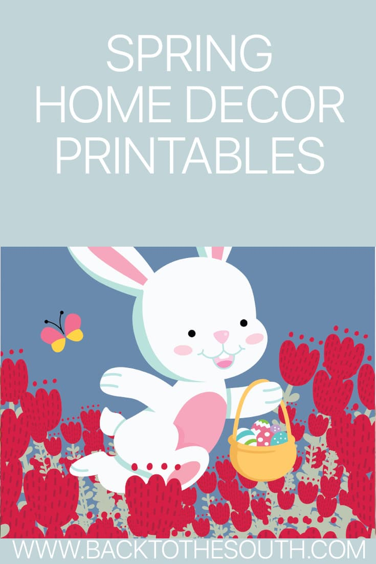 Spring Printables For Your Home