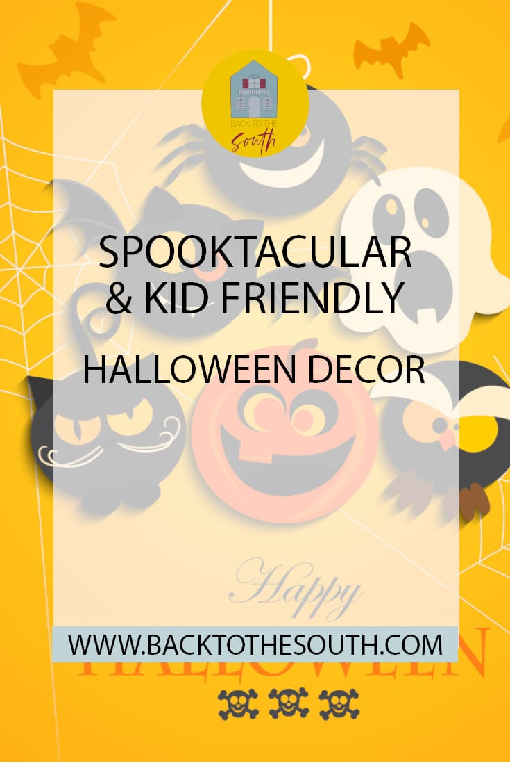 Halloween decor for kids