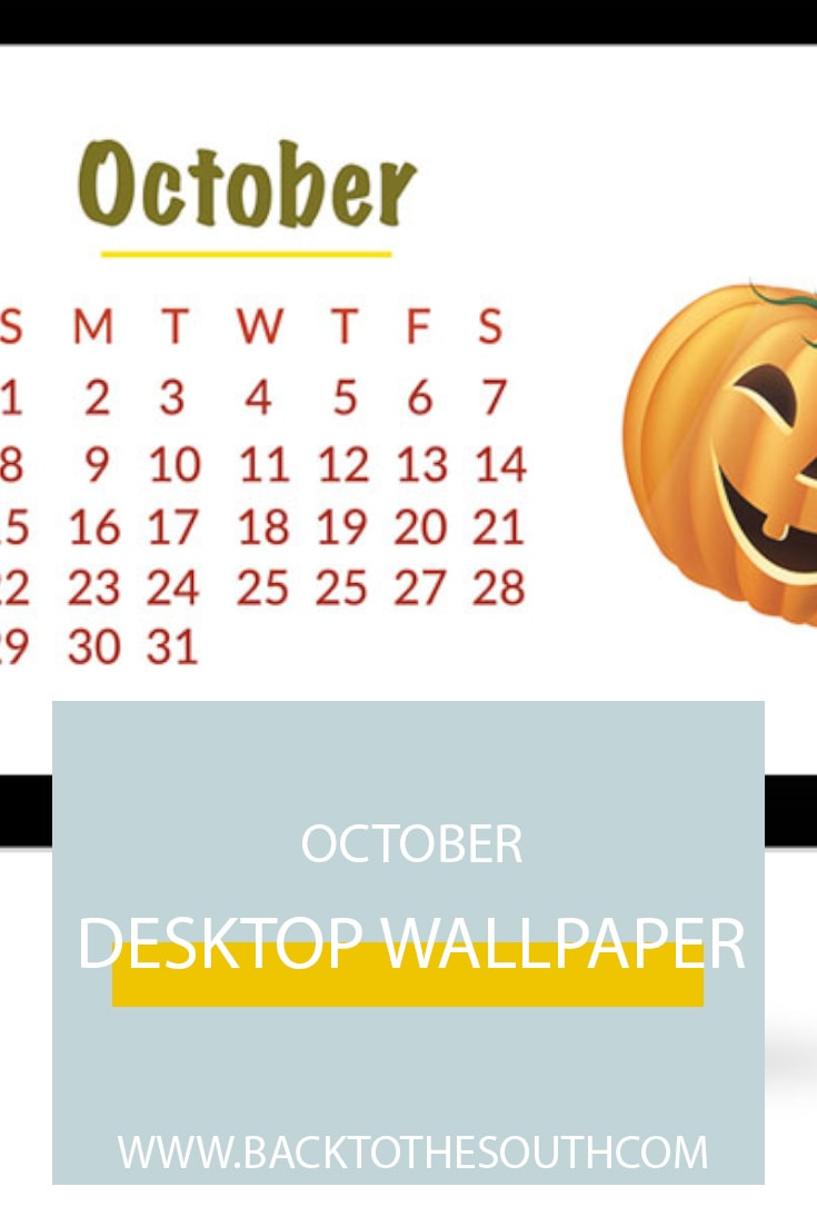 October Desktop Wallpaper