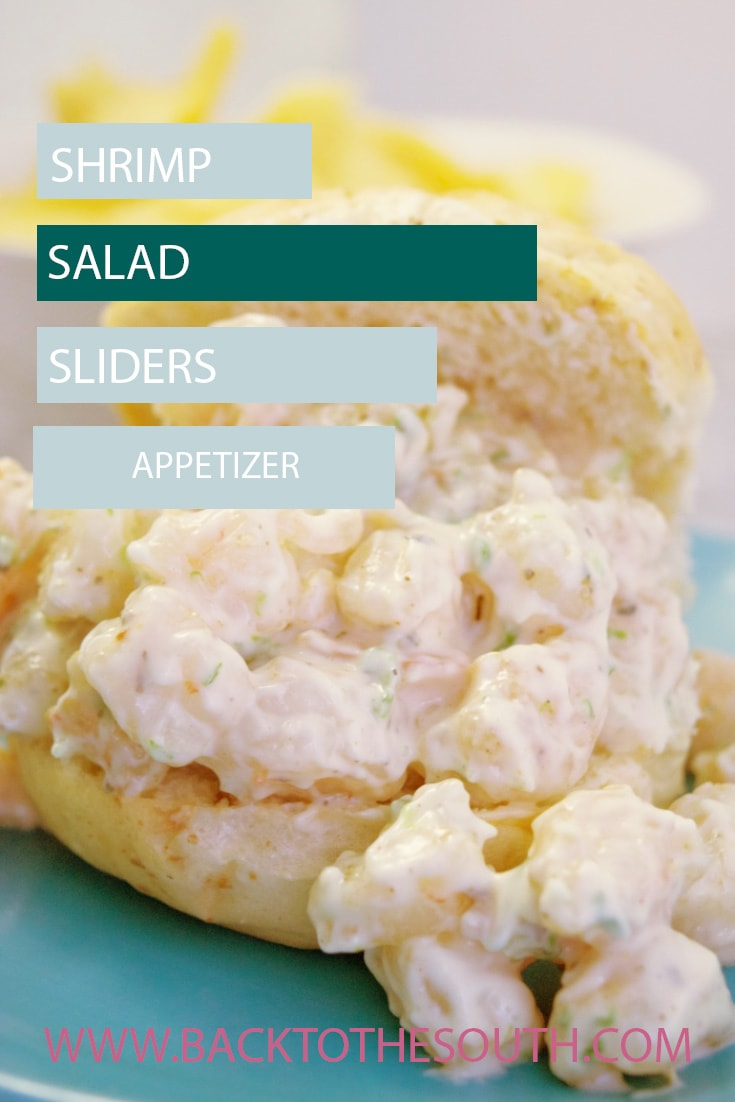 Shrimp salad sliders