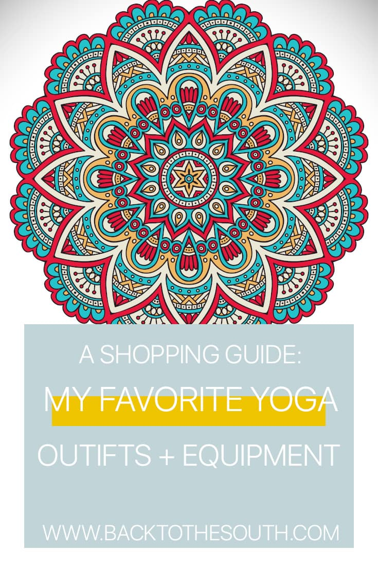 Yoga shopping guide