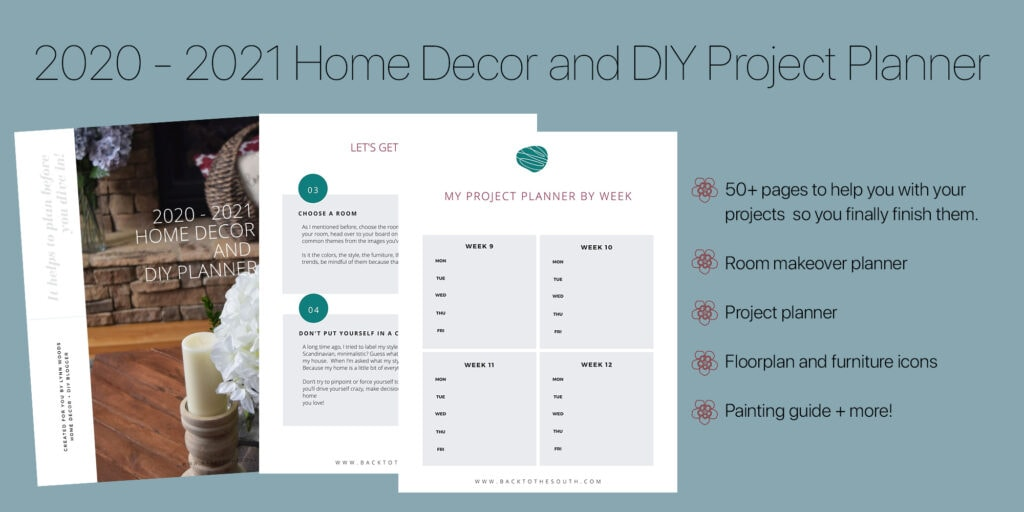 Home decor and DIY planner
