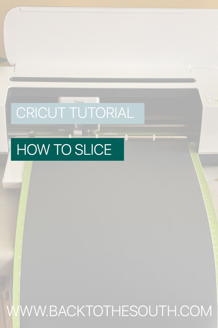 How to Slice With Cricut Machine