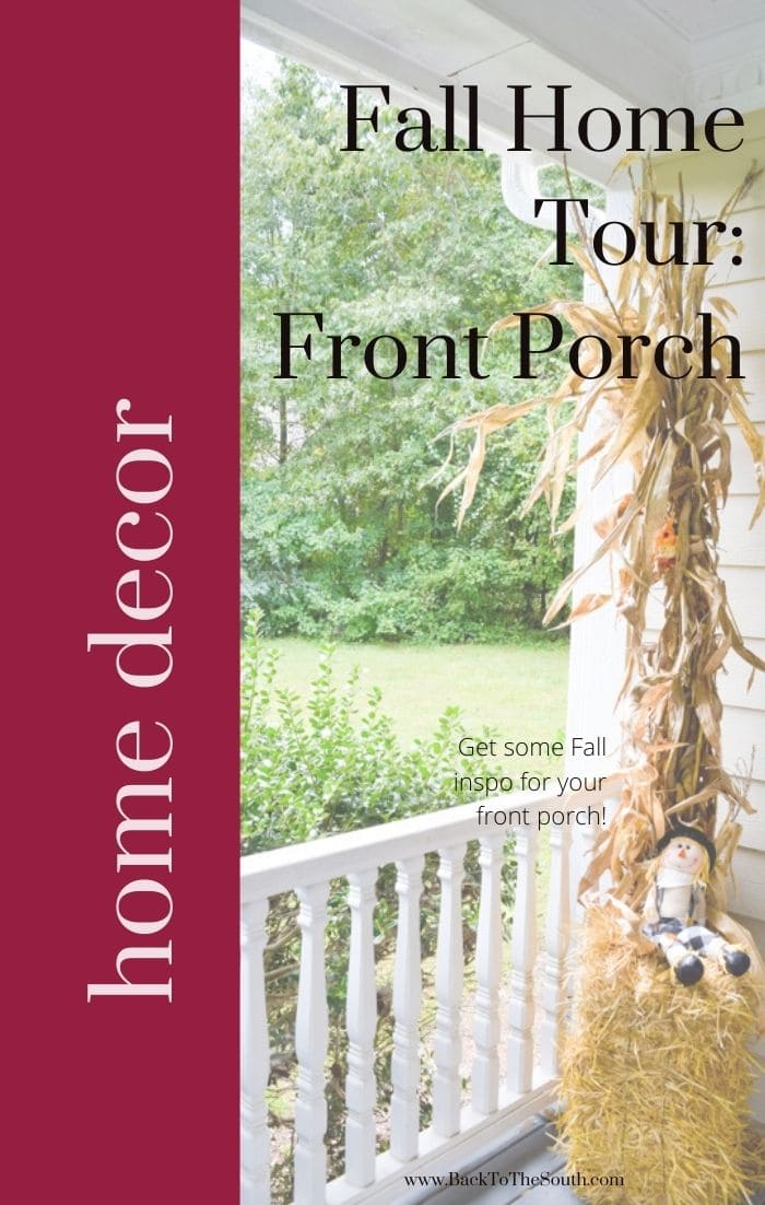 Fall Home Tour: Front Porch + Breast Cancer Awareness